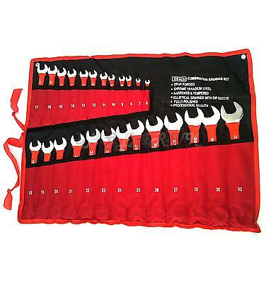 25pc Insulated Metric Combination Spanner Tool Set 6mm-32mm PRO QUALITY dipped