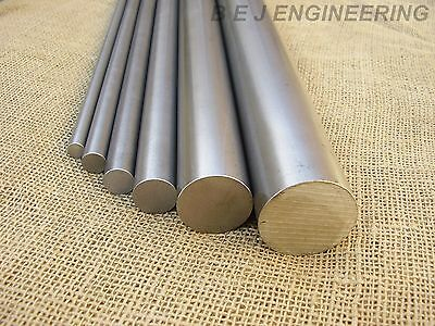 "Bright Mild Steel Round Bar 12mm to 50mm & 1/2"" to 2"" - EN1A - Rod - 250-1000mm"
