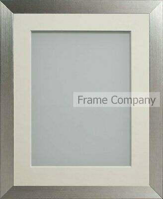 Frame Company Simpson Range Silver Picture Photo Frames with Mount