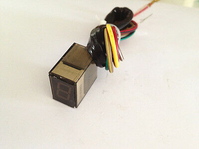 NEW DIY Digital RED LED Gear Number Indicator motorcycle