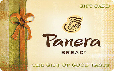 $10 / $25 Panera Bread Gift Card - Mail Delivery