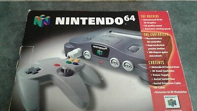 Nintendo 64 Empty Box  & Polystyrene Insert Only Nothing else Included