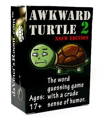 Adult Party Game Awkward Turtle 2 NSFW Edition