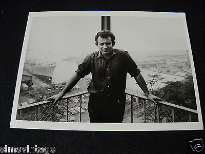 Unusual Weird Postcard Norman Mailer Brooklyn New York 1965 by Inge Morath