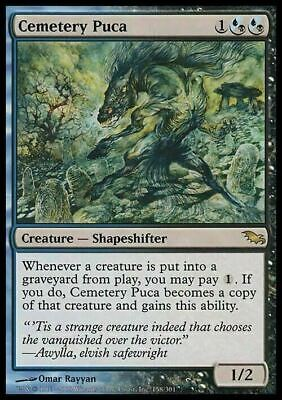Cemetery Puca ~ Shadowmoor ~ Excellent+ ~ Magic The Gathering