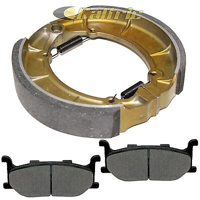 FRONT BRAKE PADS & REAR SHOES Fits YAMAHA XVS650A V-Star 650 Classic 1998-2010