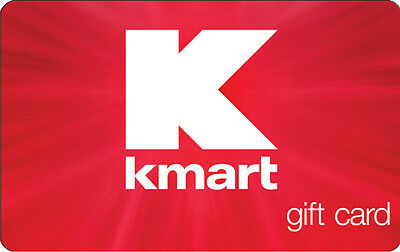 $50 / $100 KMART Gift Card