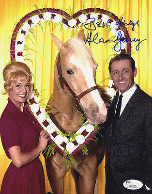 """(SSG) ALAN YOUNG Signed 8X10 Color """"Mr. Ed"""" Photo with a JSA (James Spence) COA"""