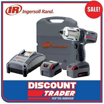 "Ingersoll Rand 1/2"" Cordless Impact Wrench 20V 5.0Ah Lithium-Ion W7150EU-K22-AN"