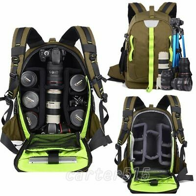 Professional Waterproof Camera Backpack DSLR SLR Camcorder Travel Shoulders Bags