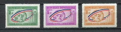27936) DOMINICANA REP. 1963 MNH** Nuovi** Freedom from hunger