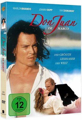 DVD DON JUAN # Johnny Depp, Marlon Brando ++NEU