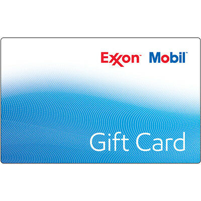 $10 / $25 / $50 ExxonMobil Gas Physical Gift Card - 1st Class Mail Delivery
