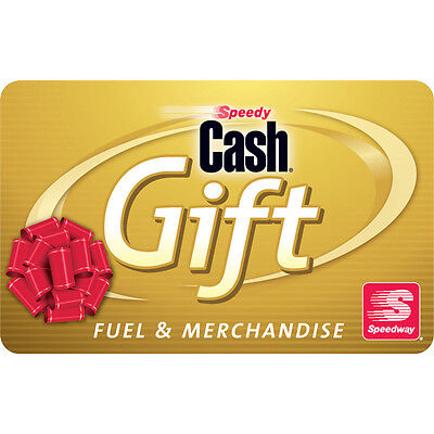 $10 / $25 / $50 Speedway Gas Physical Gift Card - 1st Class Mail Delivery