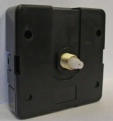 *NEW* Easy Snap-In Clock Movement with Threaded Shaft - Short Shaft (C-558)