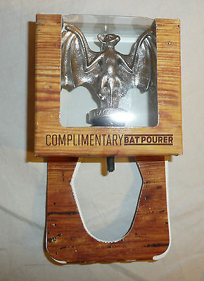 Bacardi Bat Metal Bottle Spout / Pourer - Bat Device Promo Rum Logo Oakheart NEW