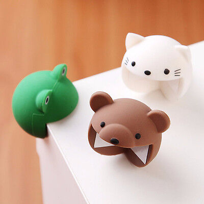2X Cute Desk Table Corner Edge Protection Cover Silicone Baby Safety Protector