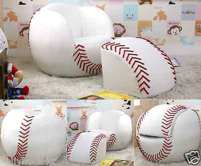 Baseball Shaped Kids Sofa Best for Interior