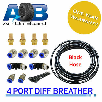 Diff Breather Kit 104-4 point-gearbox Toyota Landcruiser Hilux Prado Jeep Nissan