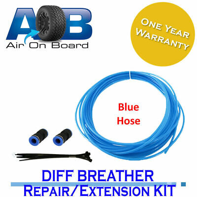 Diff Breather Repair/ Extension Kit 106B blue AOB universal Hose, Joiners, Ties