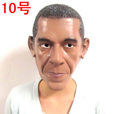 Obama Mask Party Latex Mask for Halloween & Christmas
