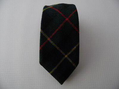 La Cicogna Wool Tie Lana Cravatta Made In Italy For Child A289