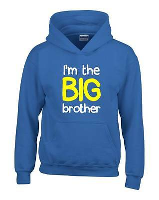 I/'M GOING TO BE A BIG BROTHER Boys T-Shirt 1-14 Years Blue Funny Printed Joke