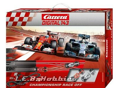 Carrera Digital 143 Championship Race Off slot car race set 40028