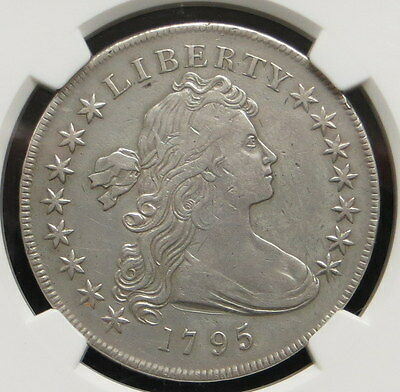1795 Draped Bust Dollar, NGC Certified VF Details