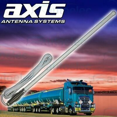 Axis Ch5T White Uhf 5Db Fibreglass Cb Antenna 720Mm Height For Gme Uniden Oricom