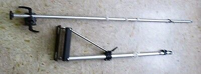 """Bogen Manfrotto Wall Mounting Boom/ Light Arm+ 85.5"""" Extender Arm+ Cord Clips"""