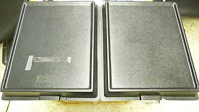 """Set Of 2: 11X14"""" Abs Plastic 2"""" Deep Sensitized Film Paper Protector Trays"""