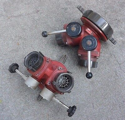"""AKRON - ELKHART 6"""" NH to 2 ½"""" NH Suction valve W/Shut off control"""