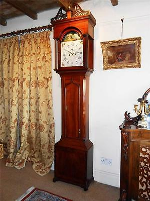 Georgian Longcase Clock, 8 Day Movement, South Shields, c.1790
