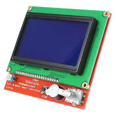 RAMPS1.4 LCD 12864 LCD Control Panel 3D Printer Smart Controller