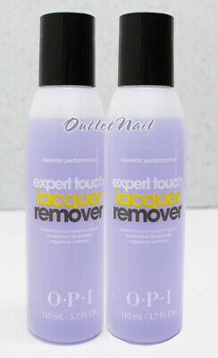 LOT 2 - OPI Expert Touch Lacquer Remover 4oz/120ml Nail Polish Gel Removal