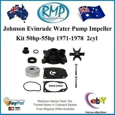 A New Water Pump Kit Suits Evinrude Johnson 50hp 55hp 1971-1978 # R 389133