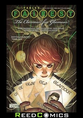 FAIREST VOLUME 5 THE CLAMOUR FOR GLAMOUR GRAPHIC NOVEL Paperback Collects #27-33