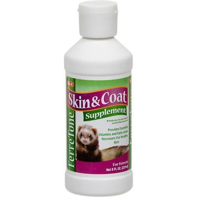 8 in 1 Ferretone Skin and Coat Ferret Food Supplement