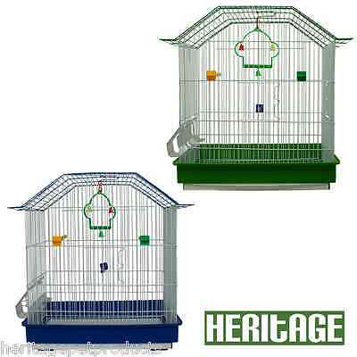HERITAGE CAGES SOMERSET MEDIUM BIRD CAGE 42x29x47CM FINCH BUDGIE CANARY PET HOME