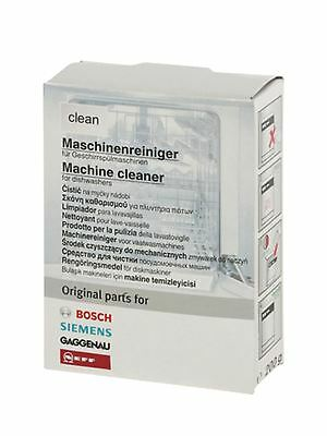 Bosch Dishwasher maintenance cleaning powder 311580
