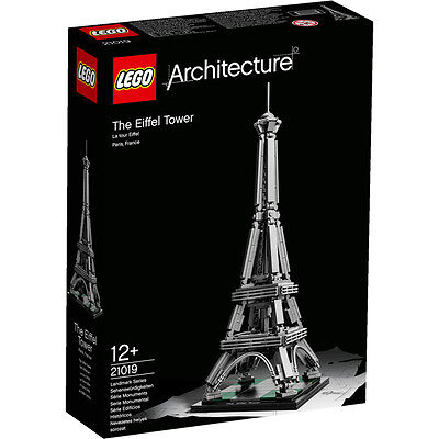 Lego Architecture The Eiffel Tower 21019 NEW