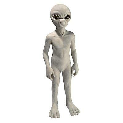 Medium: UFO Extra-Terrestrial Roswell Area 51 Outer Space Alien Sculpture