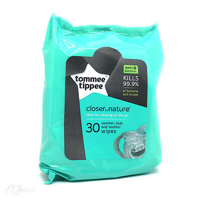 Tommee Tippee Teat Soother And Teether Wipes 30