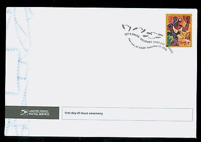 USA #3939 2005 37c Let's Dance Merengue Stamp  First Day Ceremony Program