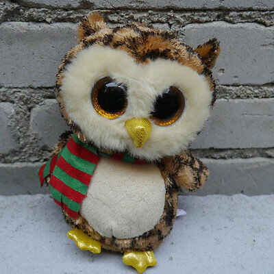 ty beanies boos Owl Wise no heart tag stuffed animal toy