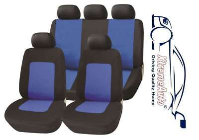 Bloomsbury Beige Leather Look 8 PCE Car Seat Covers For Saab 9-3 9-5