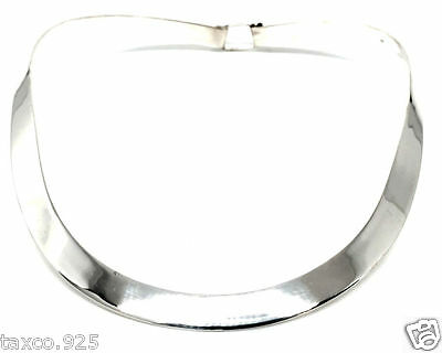 Taxco Mexican Sterling Silver Elegant Choker Necklace Mexico