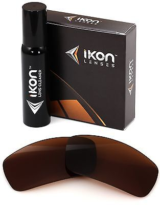 Polarized IKON Replacement Lenses For Spy General Sunglasses Bronze