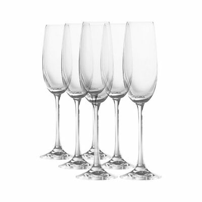 NEW Royal Doulton Champagne Flutes Set of 6 (RRP $120)